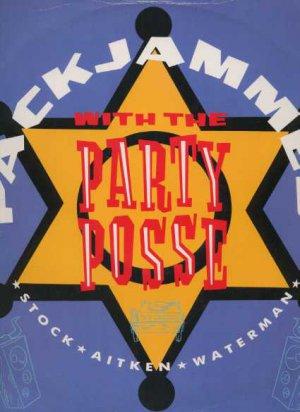 "The Party Posse - Packjammed - UK 12"" Single - USAT620 vg/vg"