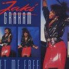 """Jaki Graham - Set Me Free - UK 12"""" Single - 12JAKIX7 g/vg"""