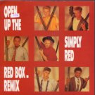 """Simply Red - Open Up The Red Box Remix - UK 7"""" Single - YZ75 ex+/m"""