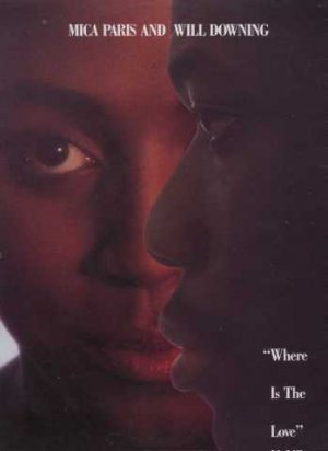 """Mica Paris & Will Downing - Where Is The Love - UK 12"""" Single - 12BRW122 vg/vg"""
