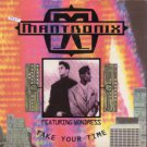 "Mantronix feat Wondress - Take Your Time - UK 7"" Single - CL573 ex/m"
