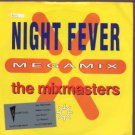"""The Mixmasters - Nightfever Megamix - UK 7"""" Single - ZB44339 ex/m"""