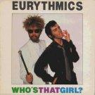 "Eurythmics - Who's That Girl? - UK 7"" Single - DA3 ex/m"