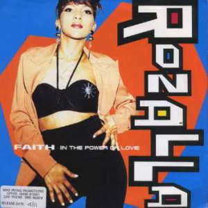 "Rozalla - Faith (In The Power Of Love) - UK 7"" Single - LOSE15 ex/m"