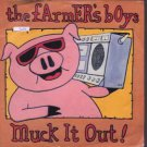 """The Famers Boys - Muck It Out! - UK 7"""" Single - EMI5380 ex/m"""