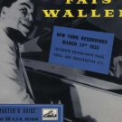 Thomas Fats Waller - New York Recordings March 11th 1936 - UK LP - CLP1035 vg/ex