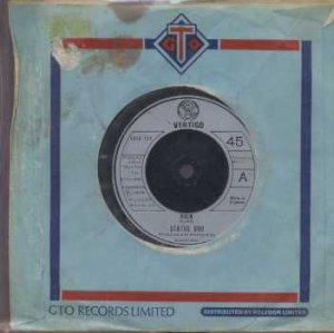"""Status Quo - Rain - UK 7"""" Single - 6059133 g/ex"""