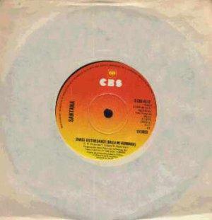 "Santana - Dance Sister Dance - UK 7"" Single - SCBS4512 ex/m"