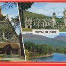 ROYAL DEESIDE SCOTLAND postcard