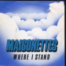 "Maisonettes - Where I Stand - UK 7"" Single - RSG2 g/m"