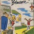 Camper Beware! by Dennis Rooke Hardback Book 1965