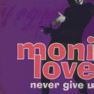 "Monie Love - Never Give Up - UK 12"" Single"