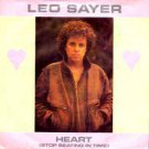 """Leo Sayer - Heart (Stop Beating In Time) - UK 7"""" Single"""
