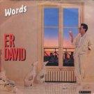 "F.R. David - Words - UK 7"" Single"