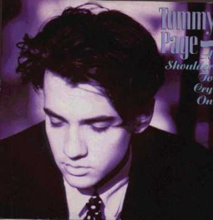 "Tommy Page - A Shoulder To Cry On - UK 7"" Single"