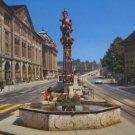 OGRE FOUNTAIN POSTCARD SWITZERLAND