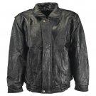 M - Maxam® Brand Italian Mosaic™ Design Genuine Top Grain Lambskin Leather Jacket