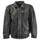 L - Maxam® Brand Italian Mosaic™ Design Genuine Top Grain Lambskin Leather Jacket