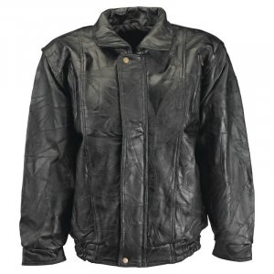 2XL - Maxam® Brand Italian Mosaic� Design Genuine Top Grain Lambskin Leather Jacket