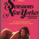 The Sensuous New Yorker by Bernhardt J. Hurwood guide to 1970's New York City Underground