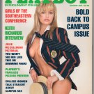 Pam Anderson Julie McCullough Karen Foster Keith Richards Bravina Trovato October 1989 Playboy