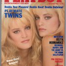 Van Breeschooten Twins Jeff Daniels KC Winkler Morganna Rorion Grace Playboy September 1989