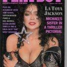 La Toya Jackson Pamela Des Barres Fred Dryer Tom Hanks Laurie Wood DEA March 1989 Playboy Magazine