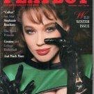 Bitten Knudsen Mickey Rourke Julie Peterson Stephanie Beacham Ed Begley Jr. Playboy February 1987