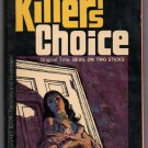 Killer's Choice by Wade Miller cover by Victor Kalin aka Devil on Two Sticks