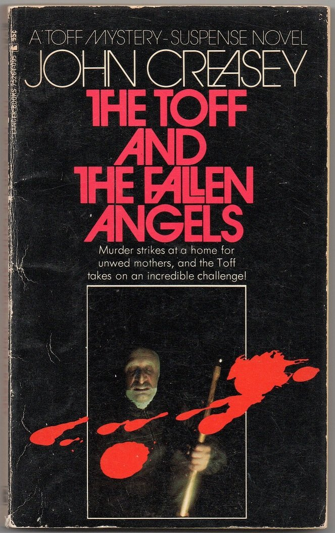 The Toff and The Fallen Angels Book 53 Richard Rollison Popular Library John Creasey paperback