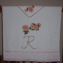 Decorated Monogrammed Towels