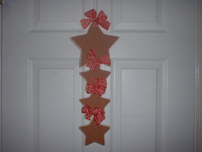 Hanging Star Cork Board.