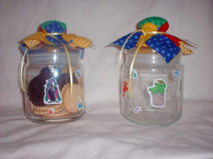 Sesame Cookie Jars