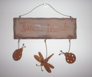 Mini Garden Friends Sign