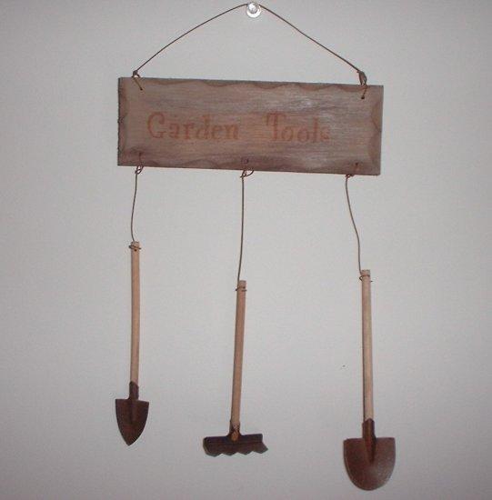 Mini Garden Tools Sign