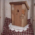 Wooden Bird/Out House