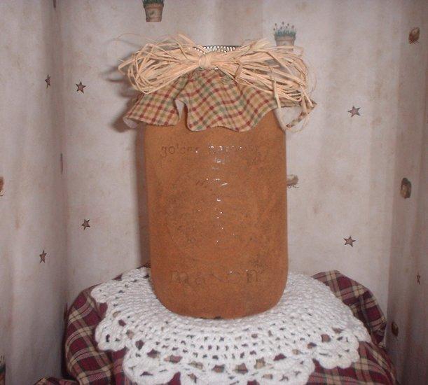 Grungy Mason Jar
