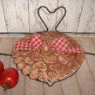 Cinnamon Salt Dough Pie