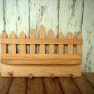 Unfinished Wooden Key Holder