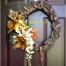 Fall Leaves Wreath