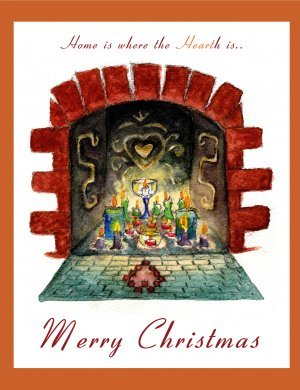 FirePlace Merry Christmas - 8 box set