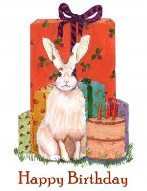 Bunny Birthday - 8 card set