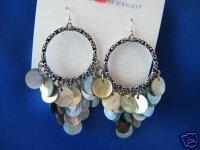 Lia Sophia Aloha Genuine Mother-of-Pearl Pierced Earrings
