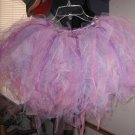 pink/purple/white tutu with rhinestones