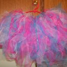 pink/ shocking blue tutu