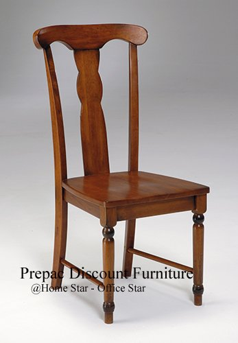SOLID WOOD KNOB HILL DESK CHAIR BURNISHED CHERRY