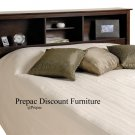 ESPRESSO COLOR HEADBOARD FOR DOUBLE/QUEEN BED PREPAC