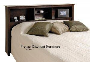 ESPRESSO COLOR HEADBOARD FOR DOUBLE/QUEEN BED PREPAC