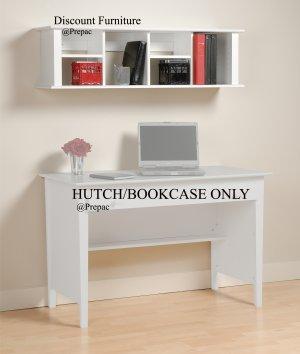 WHITE BELCARRA HUTCH/BOOKCASE