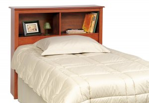 MONTEREY CHERRY HEADBOARD FOR TWIN MATES BED PREPAC